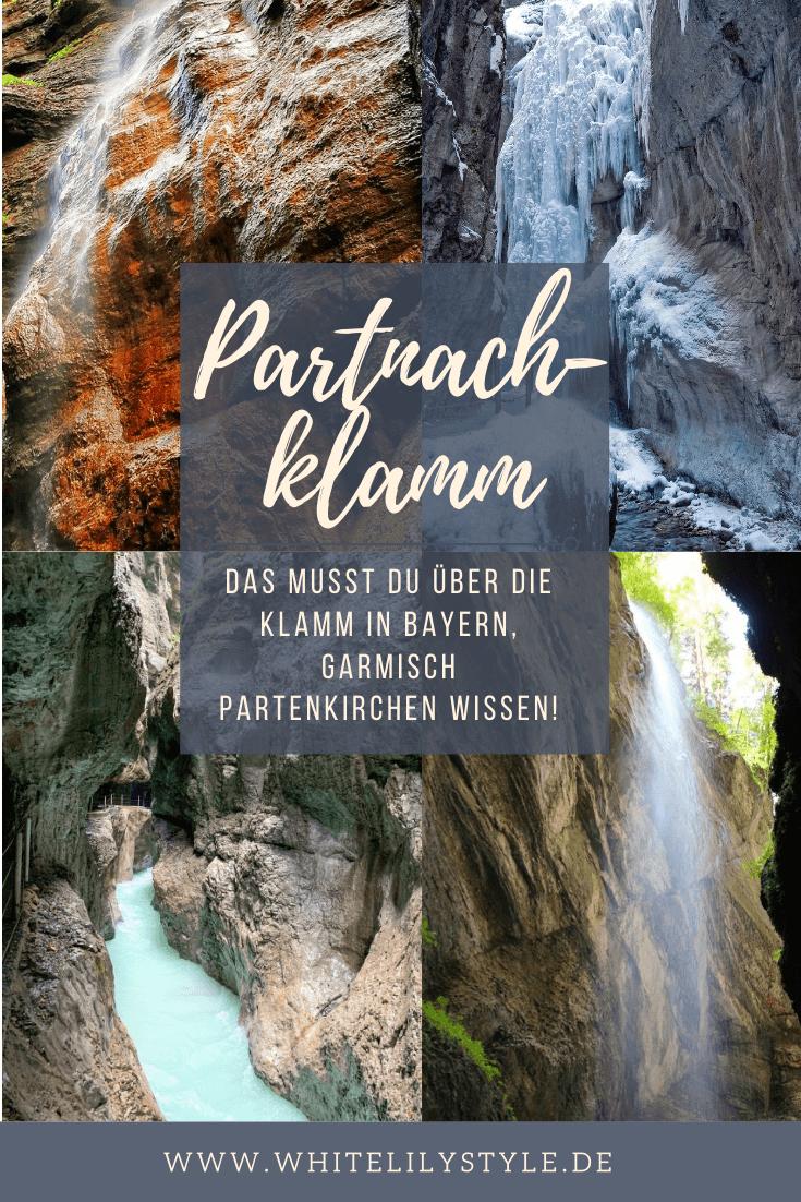 Partnachklamm - Das musst du über die Klamm in Bayern, Garmisch Partenkirchen wissen!