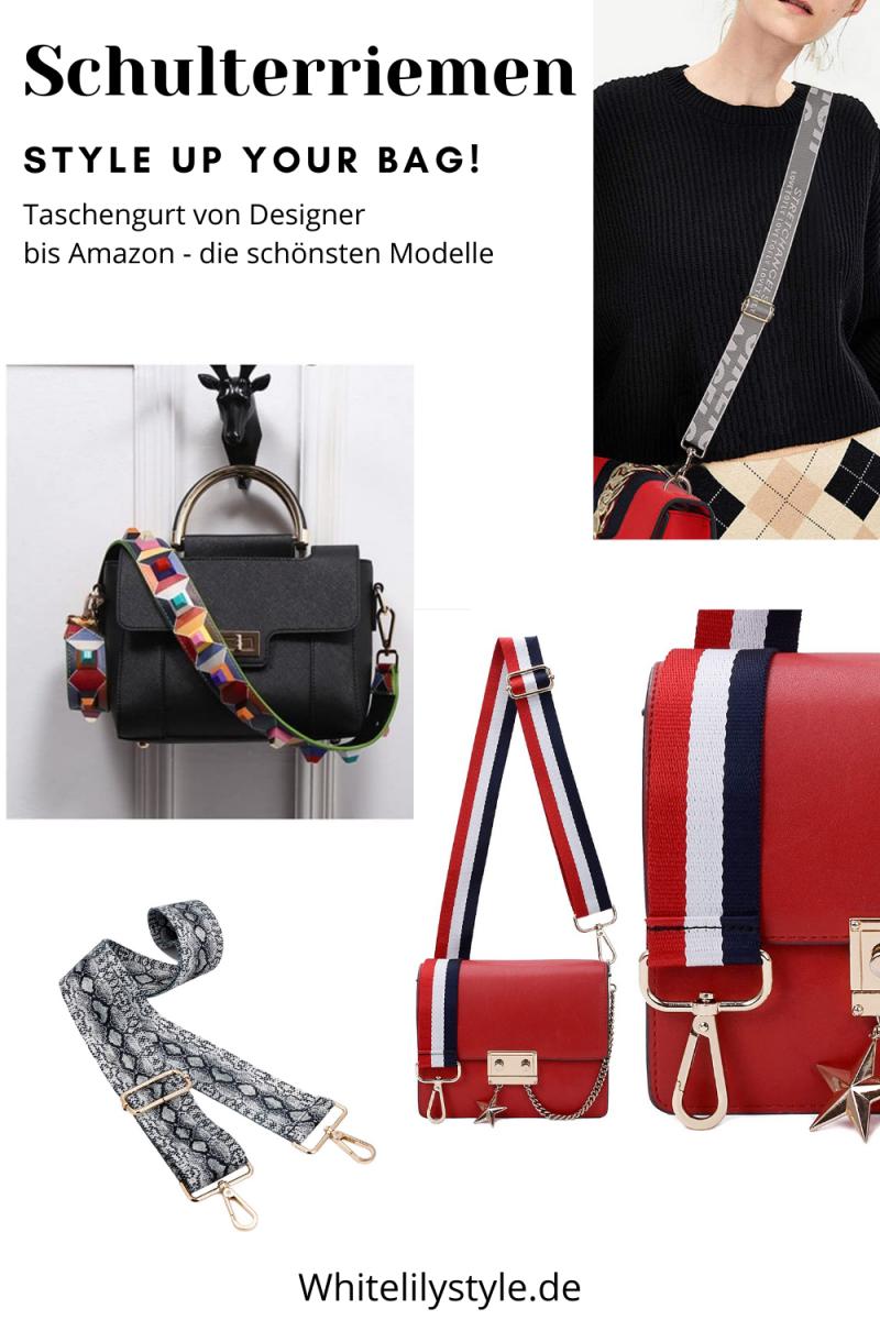 Die schönsten Schulterriemen von Designermodellen bis Amazon