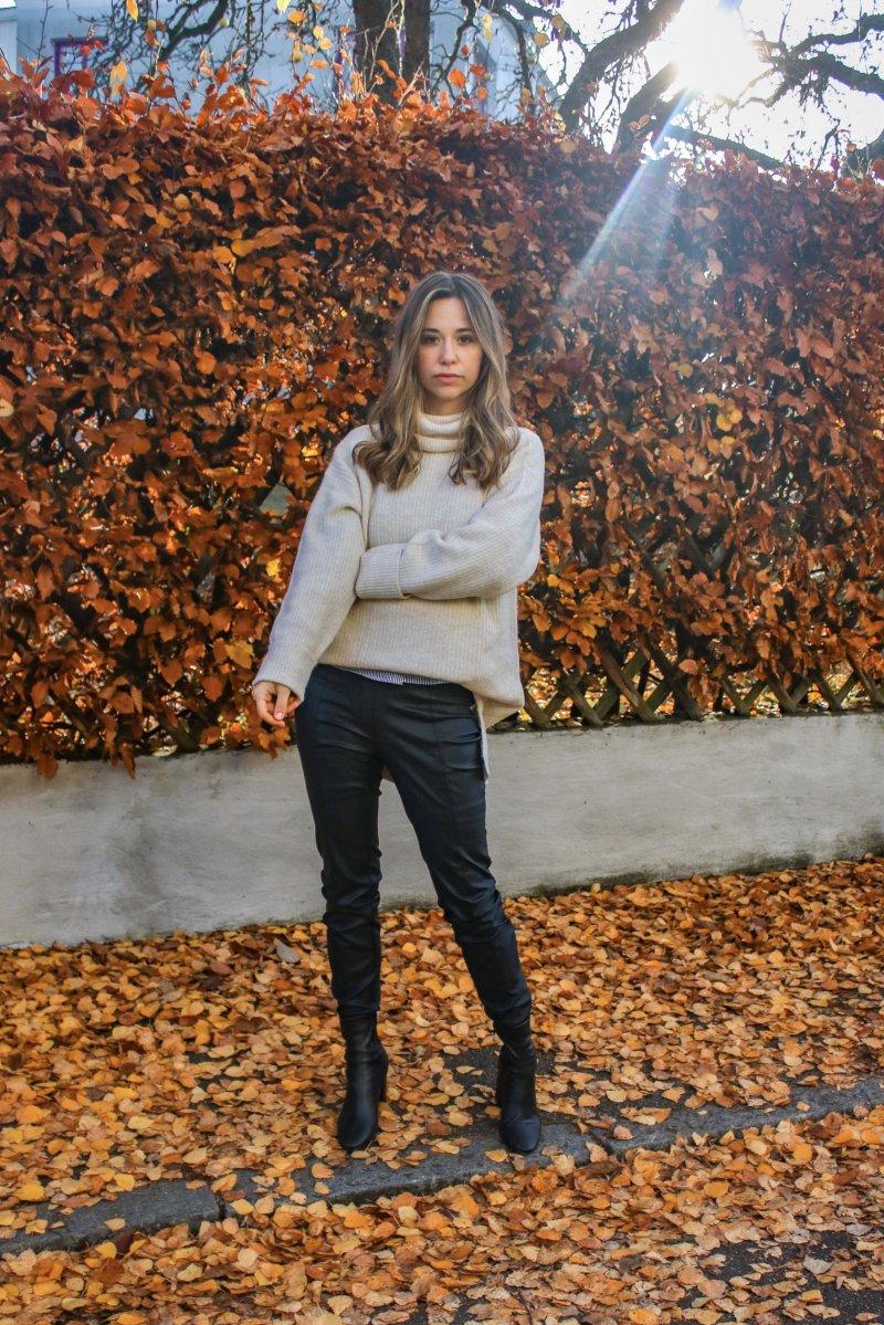 Mit diesem Fashion Teil siehst du im Herbst & Winter immer stylisch aus – Outfit Lederhose