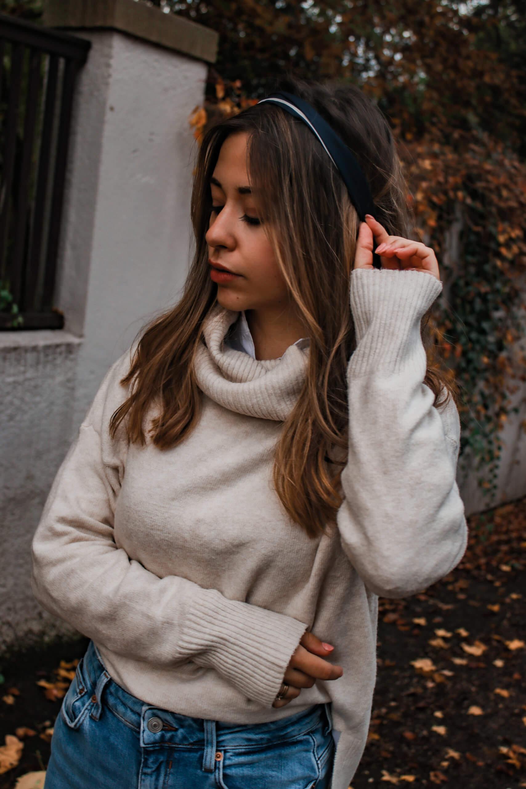 Outfit Rollkragenpullover – so simple stylen wir einen Basic Look für kalte Tage + Shopping Tipps