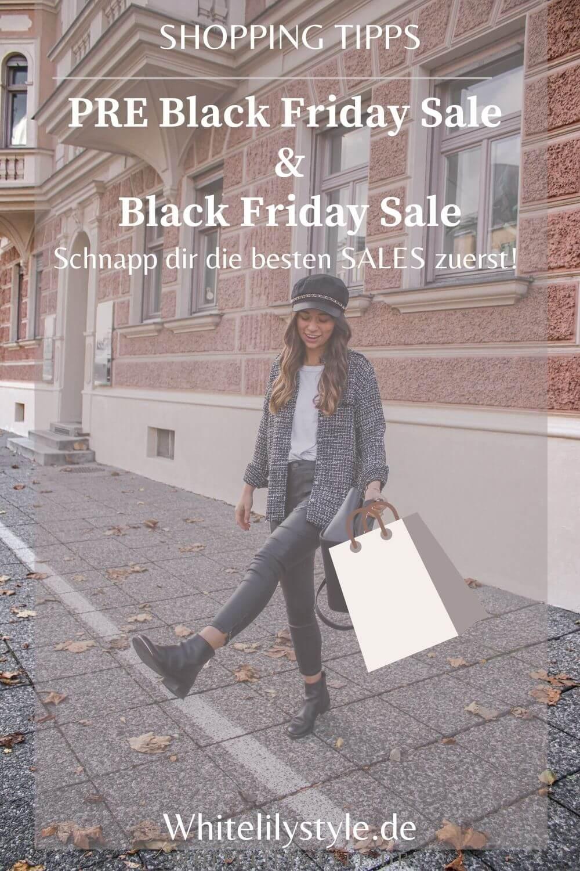 PRE Black Friday 2020 + Black Friday Sale- hier erfährst du vorher wo es die besten Angebote im November gibt!
