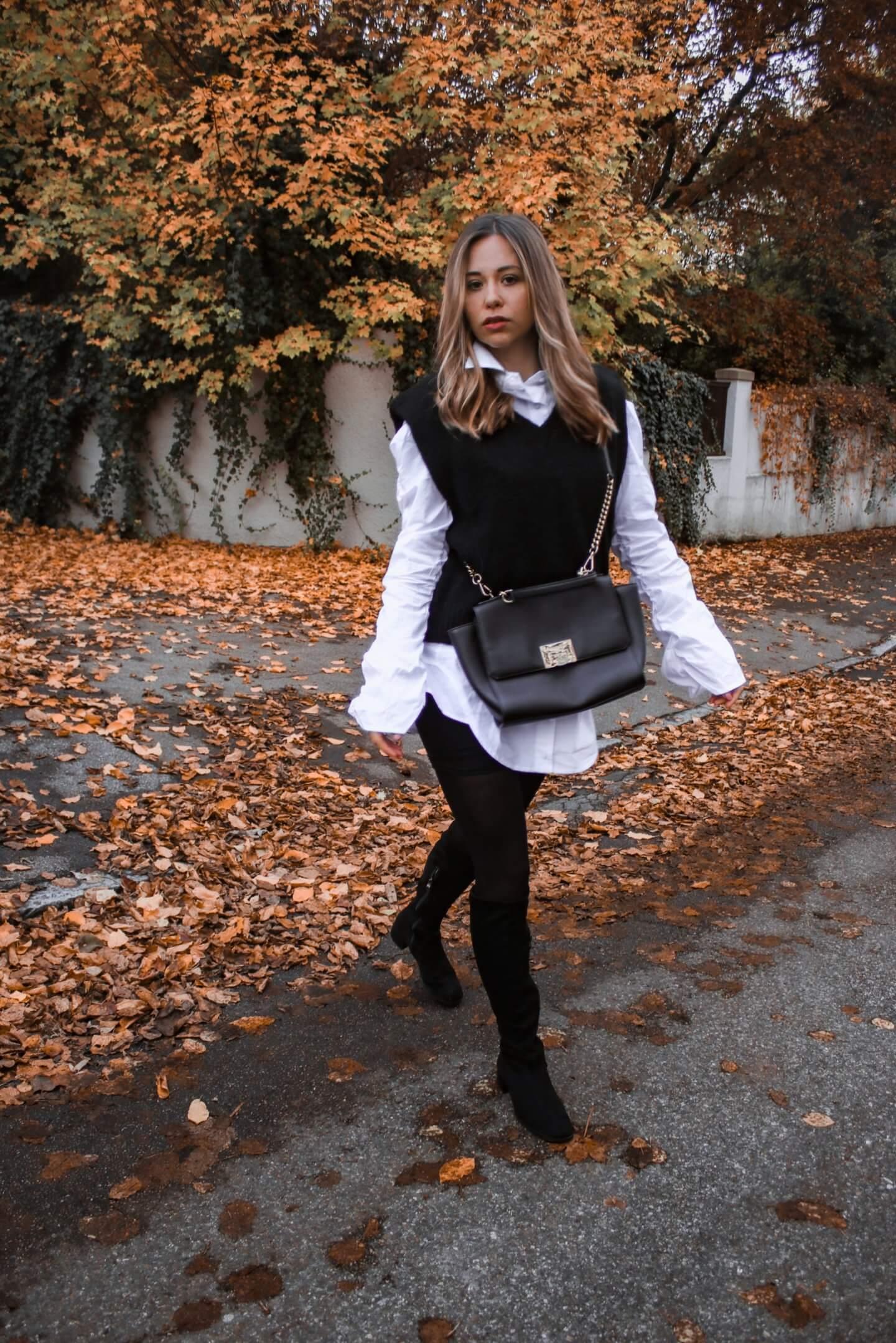 Pullunder – der ärmellose Pullover wird in diesem Herbst & Winter zum Statement Piece! Styling + Shop it!