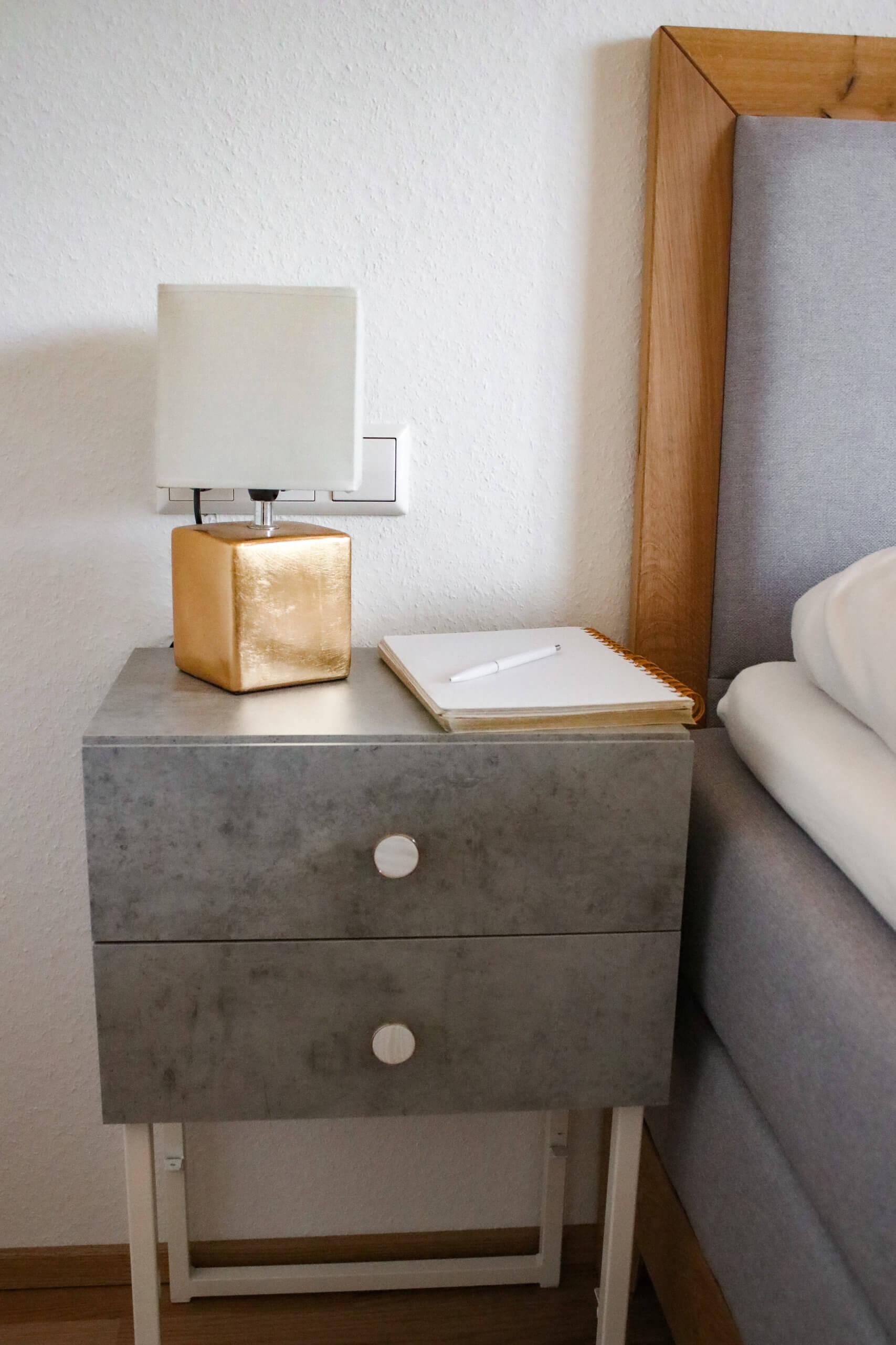 DIY Nachttisch – baue deinen Nachttisch selbst
