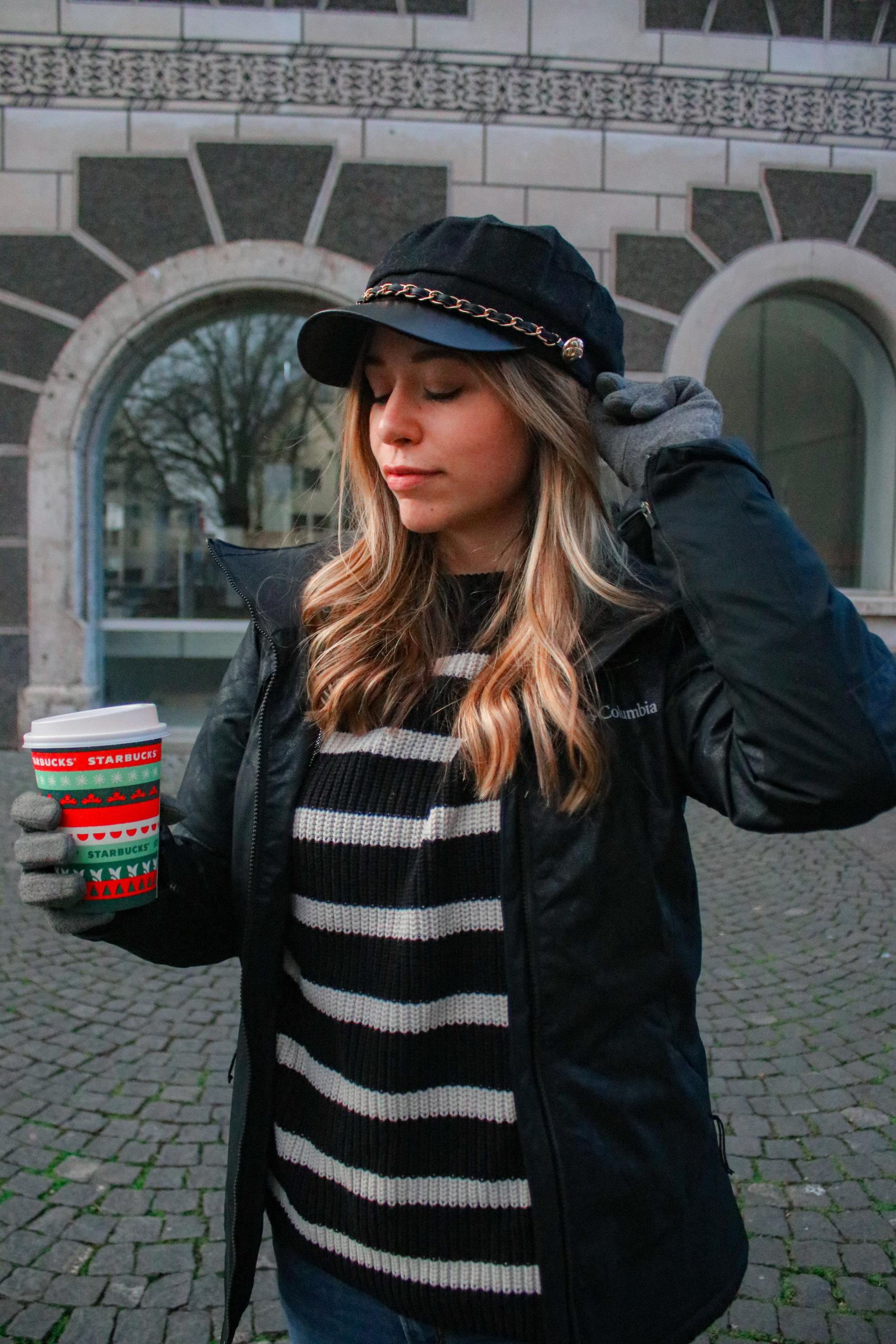 Die besten Winter Accessoires für einen stylischen Auftritt – Bucket Hat, Schal mit Logo