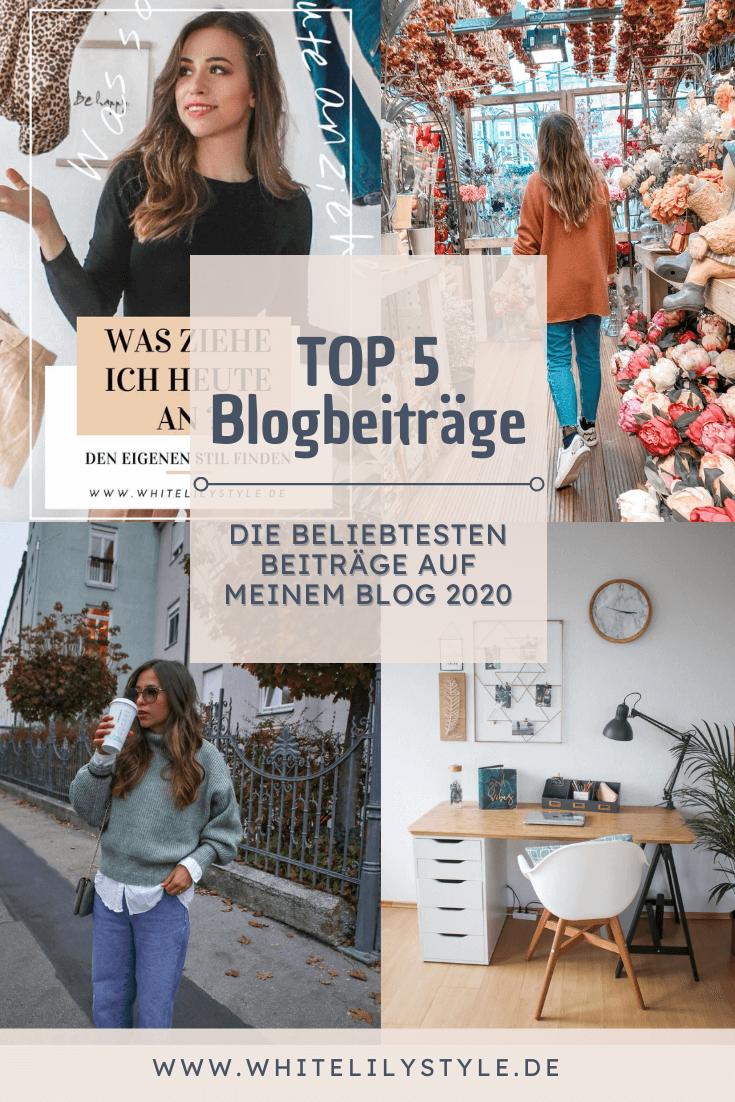 Die Top 5 Beiträge auf meinem Blog aus 2020