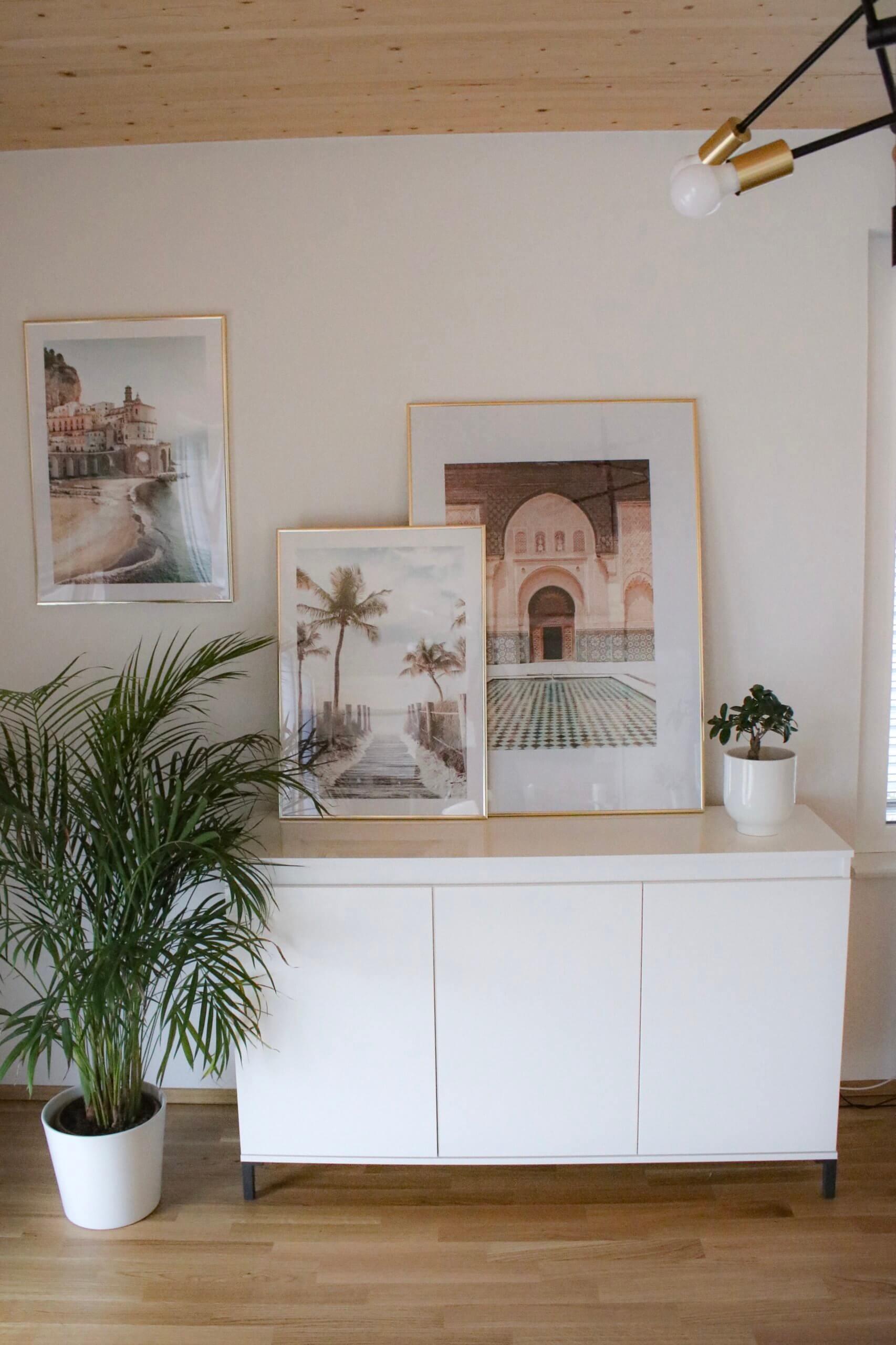 Wanddeko – was tun mit einer leeren Wand?!