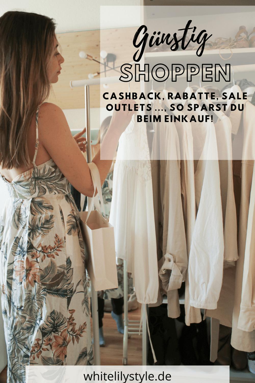 Günstig Shoppen - Cashback, Rabatte, Sale und Outlets, so sparst du beim Einkauf!