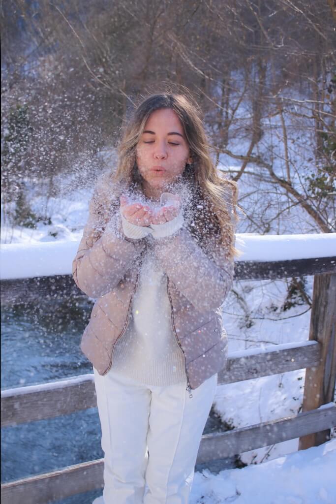 Mein Winteroutfit für eine Tag in der Natur mit viel Schnee