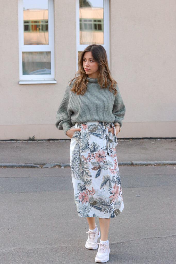 Pullover über Kleid - Wie ich ein Kleid mit Pulli kombinieren?!