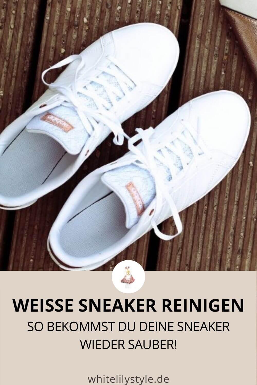 Sneaker reinigen – Mit diesen Tipps bekommt ihr eure weißen Sneaker wieder sauber