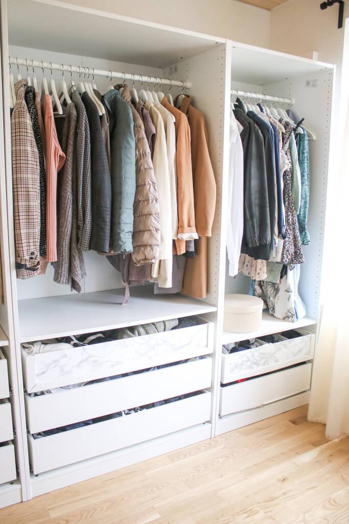 Ankleidezimmer Ideen mit Ikea Möbeln - so habe ich mein Ankleidezimmer eingerichtet und gestaltet
