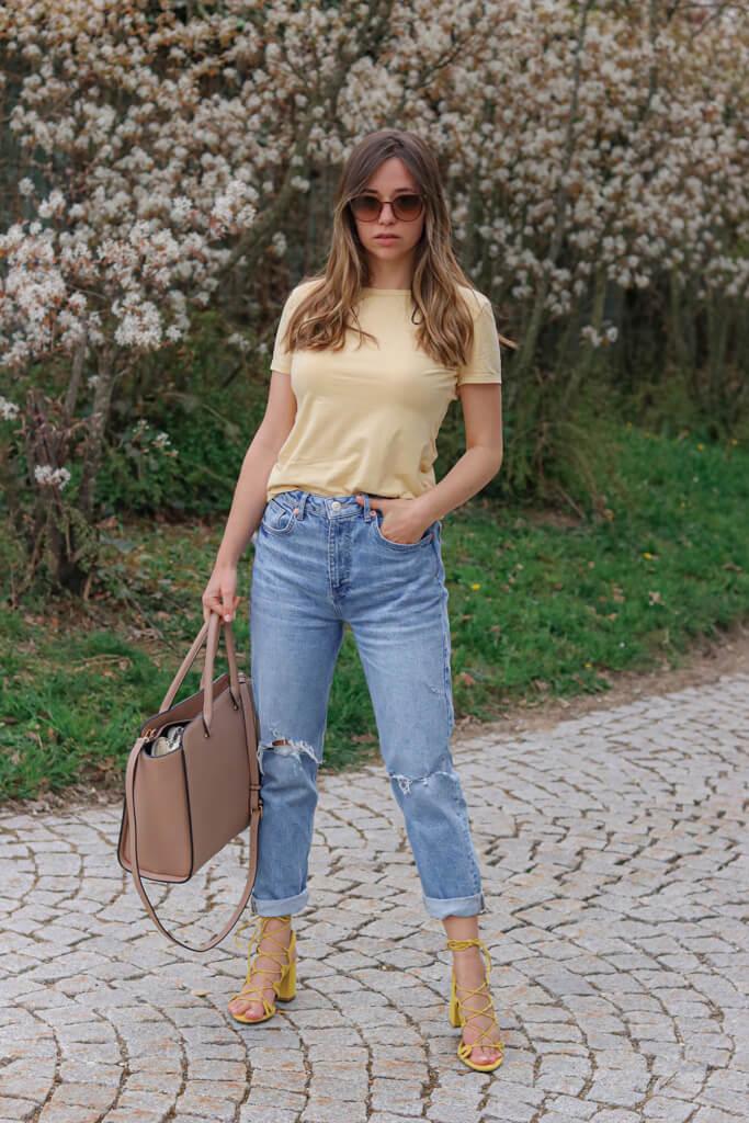 Boyfriend Jeans kombinieren – Styling Tipps für ein sommerliches Outfit