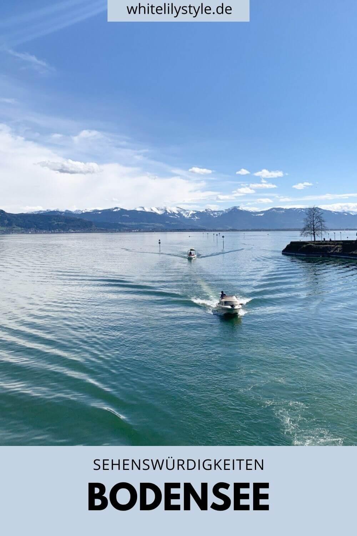 Sehenswürdigkeiten Bodensee - die schönsten Orte am Bodensee