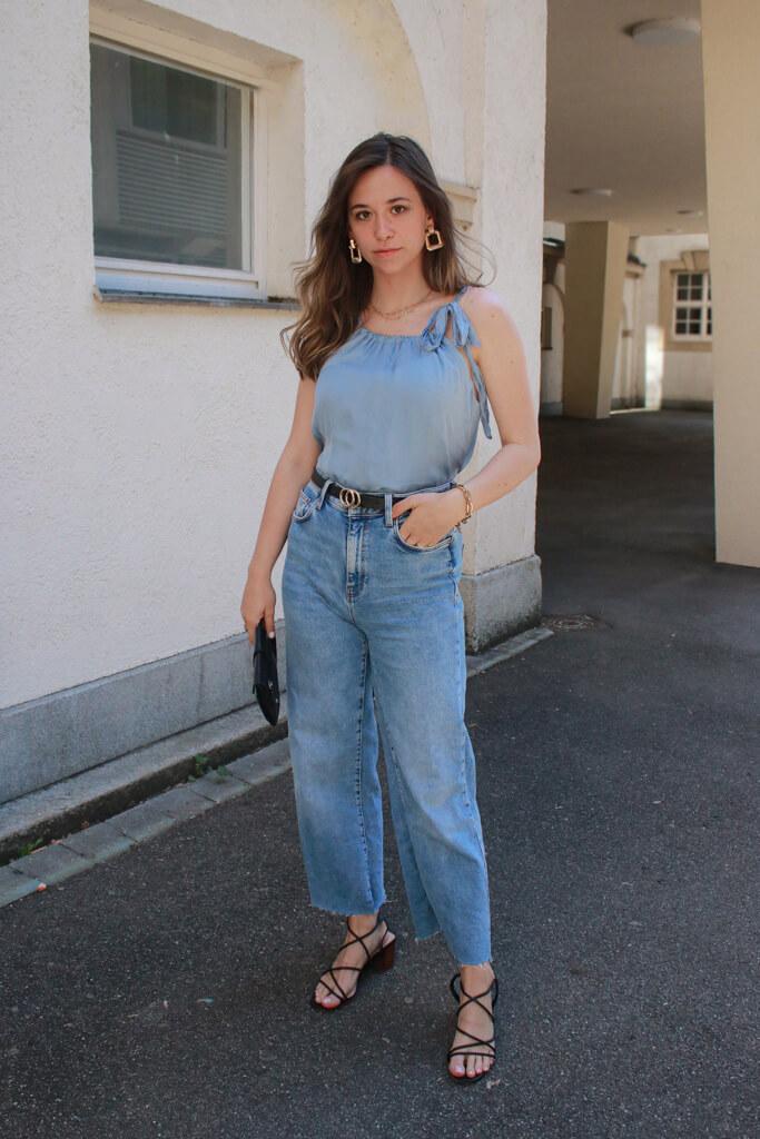 Outfit mit Jeans elegant- so stylen wir Sie elegant und festlich : Modeblog aus Deutschland: Fashionblog from Germany Styleblog