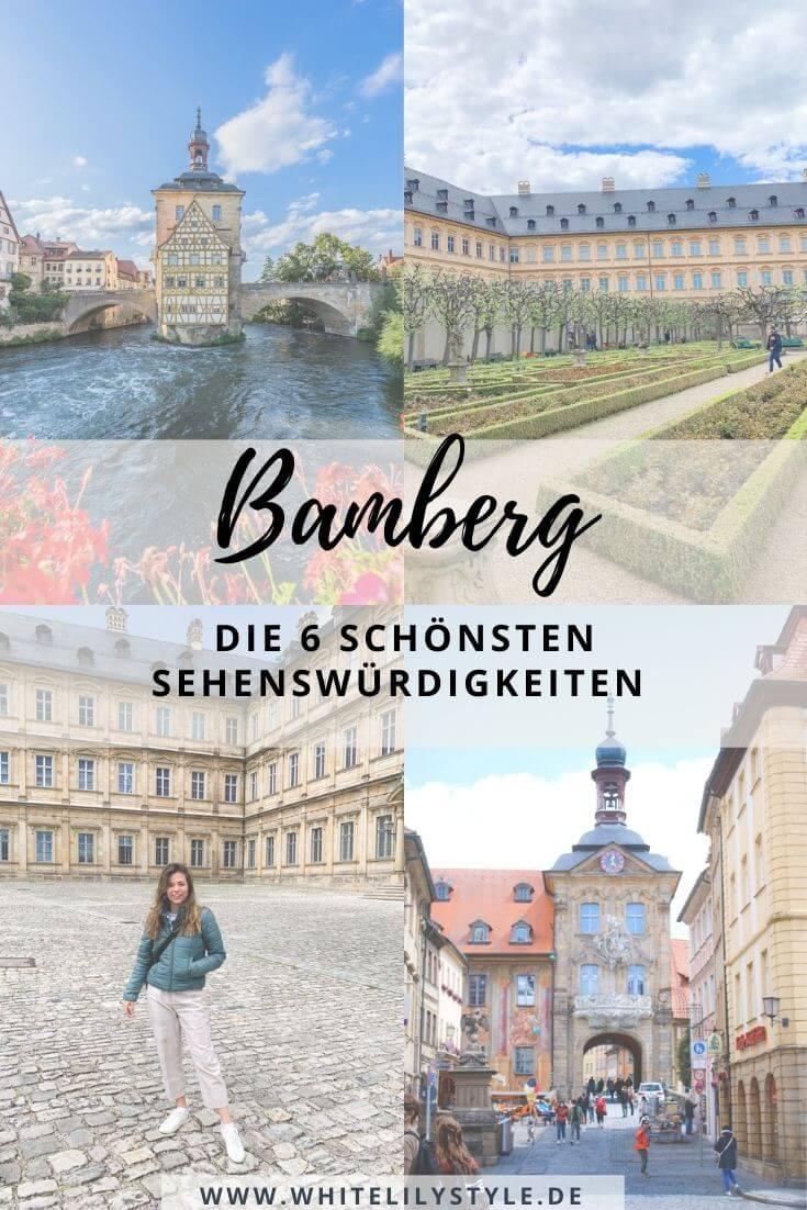 Sehenswürdigkeiten Bamberg - 6 Tipps für ein tolles Wochenende mit den schönsten Sehenswürdigkeiten