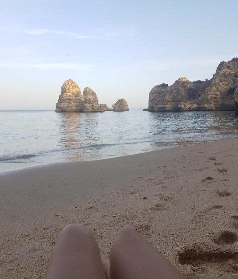 praia do camilo Camilo Beach Algarve Tipps Portugal Sehenswürdigkeiten